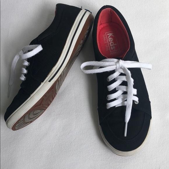 Keds Shoes | Ortholite Black Laceup